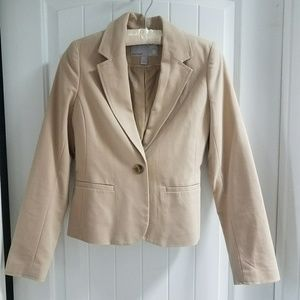 Tan Old Navy blazer